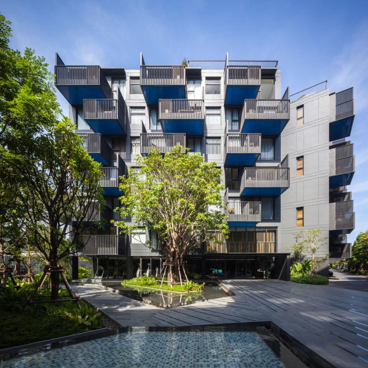 泰国七层公寓-1