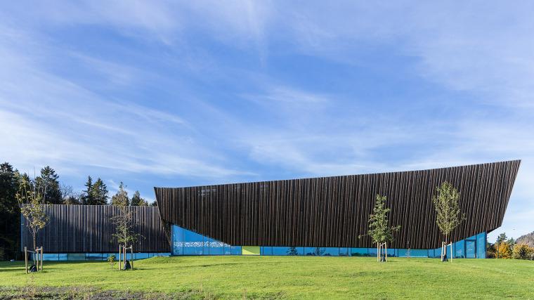 挪威Holmen水上运动中心