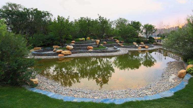 济南融汇城示范区景观-1