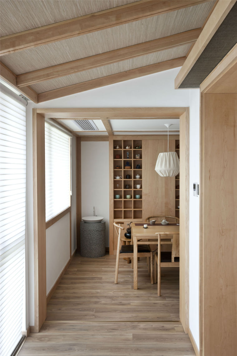 简单自然的中式风格住宅室内实景图 (32)