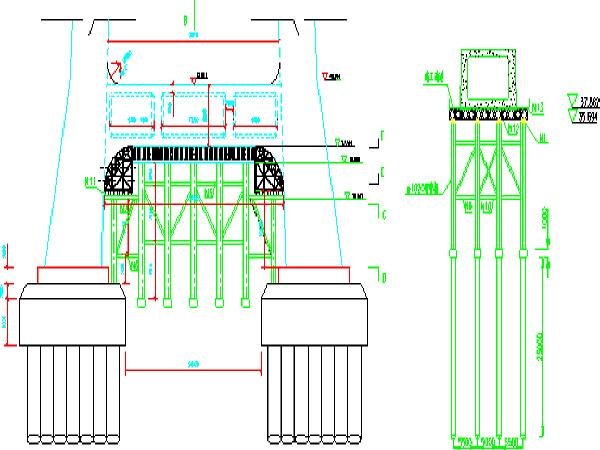 桥梁工程下横梁施工方案