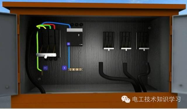 TN_S工地三相五线制电路布线详解_16