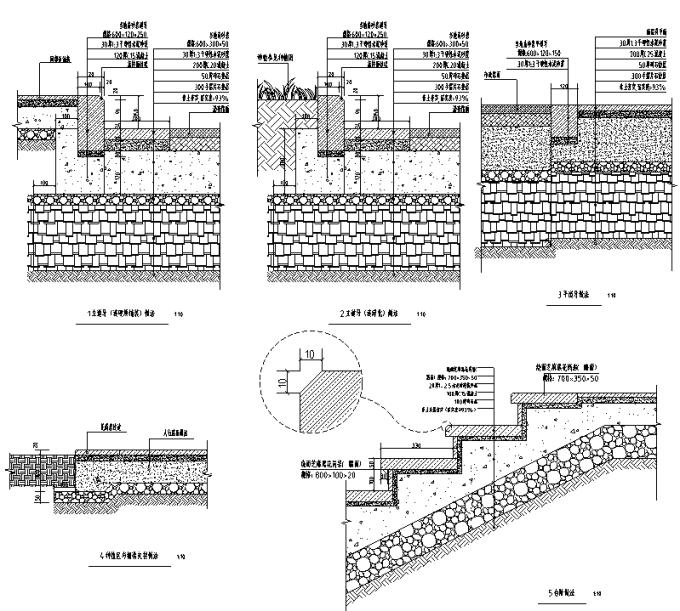 [重庆]低碳工业园区高端住宅景观设计全套施工图(2016最新)_6