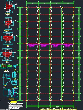 钢结构框架厂房施工图纸(含建筑结构、给排水)_6