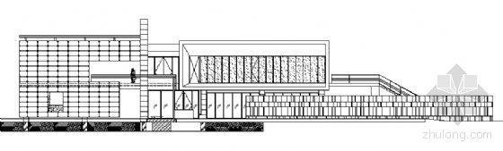 某太阳宫G区售楼处工程节点建筑施工图