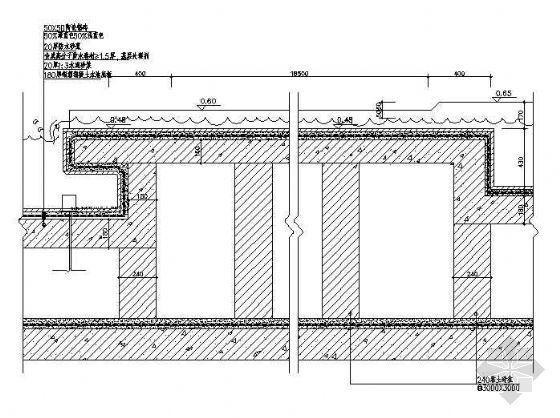 小庭园水道详图(2)