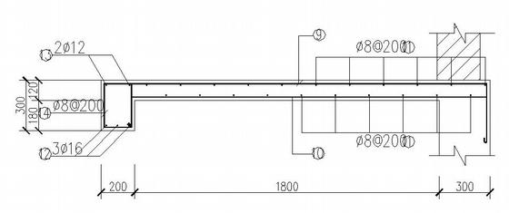 雨水泵井结构图