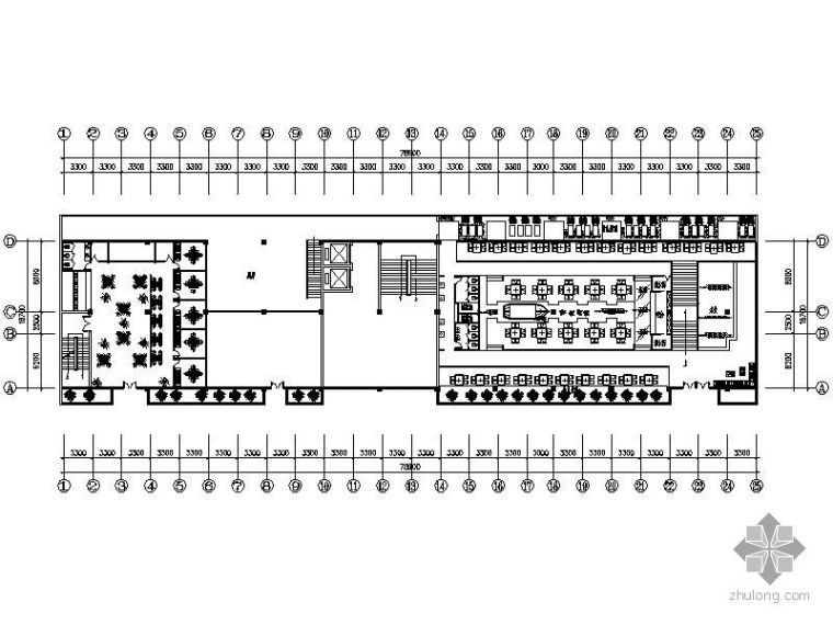 中式风格火锅餐饮链锁店设计图