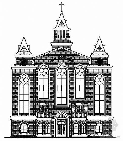 某教堂建筑施工图