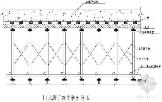 某高层框架结构高支模施工方案