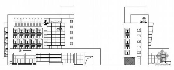 [马鞍山]某农业银行办公楼建筑设计方案