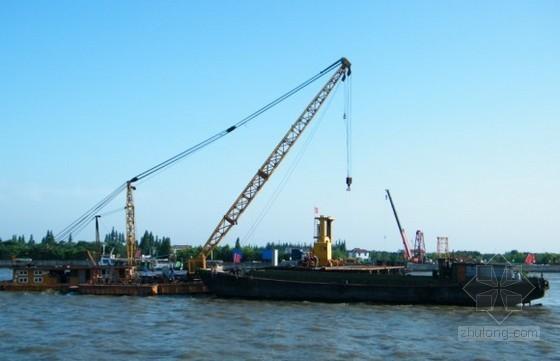 安化(梅城)至邵阳高速公路某大桥水中墩承台及扩大基础施工技术方案