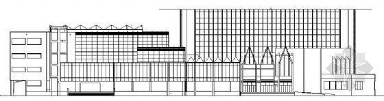 某四层展览中心建筑方案图