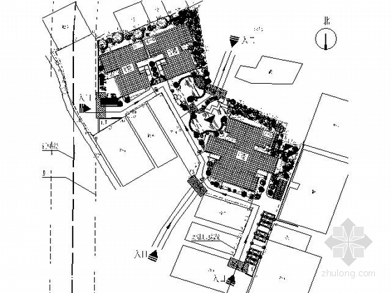 某十八层一梯六户住宅楼建筑扩初图(含效果图)-图5