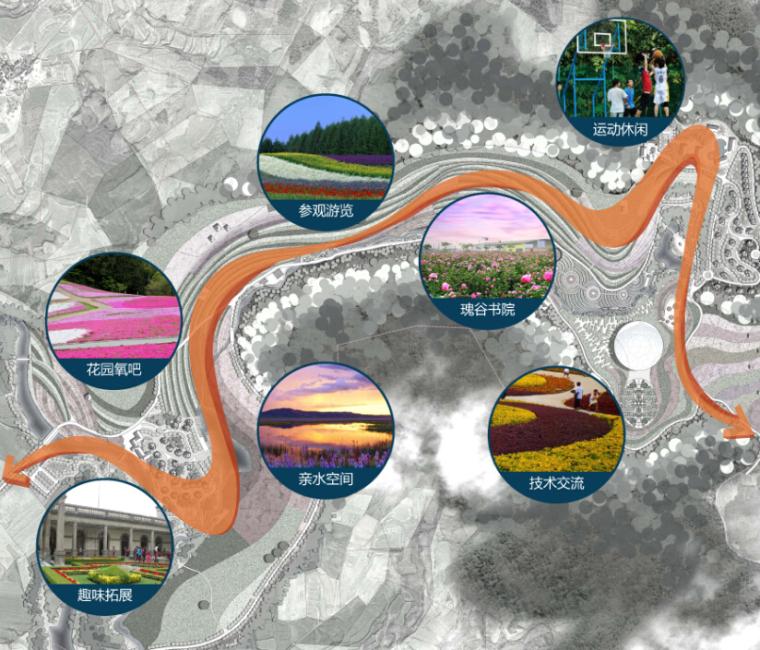 [湖北]浪漫风情休闲度假地景观方案设计-13