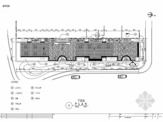 [江西]别墅区会所景观扩初设计施工详图