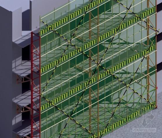 [北京]回迁安置房工程爬架专项施工方案(75页 附图多)
