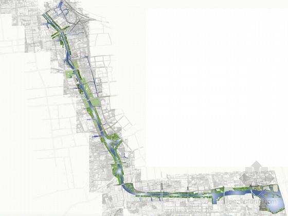 [苏州]人工河流公共绿地景观规划设计方案
