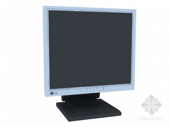 电脑显示器3D模型下载