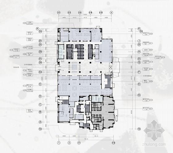 [湖北]高品质五星级现代风格民族酒店室内装修设计方案