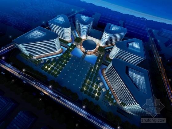 [三亚]创意新城创业服务中心高层综合孵化楼建筑设计方案文本