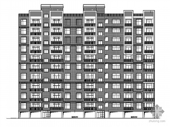 某十一层住宅建筑施工图