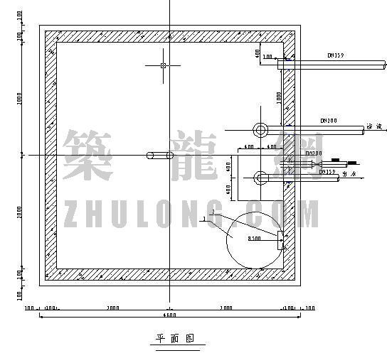 30t蓄水池施工图