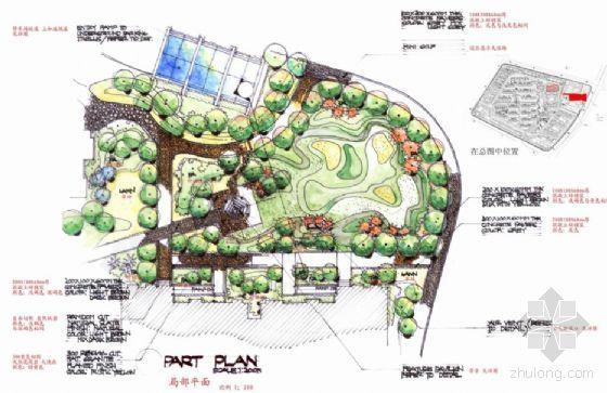 南京居住区景观扩初设计方案-2