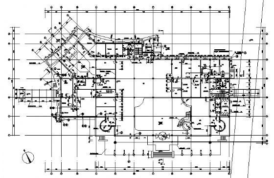 某小区会所建筑施工图-4