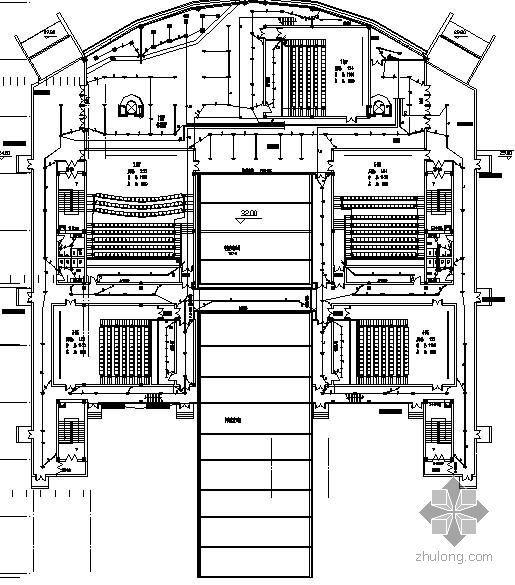 兰州某电影院电气施工图