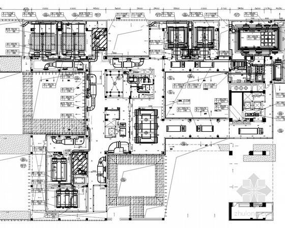 [上海]大型汽车城及办公楼空调通风防排烟系统设计施工图(含消防系统设计)