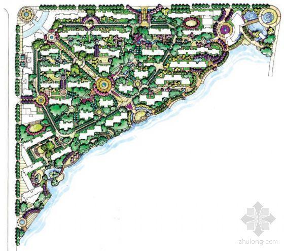 武汉大华南湖公园世家一期景观方案