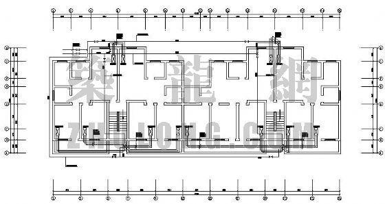某海关办公楼宿舍楼空调设计图