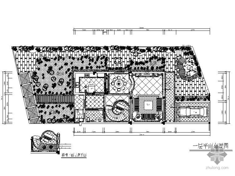 经典五层别墅样板房装修施工图_1