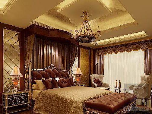 欧 式 卧 室