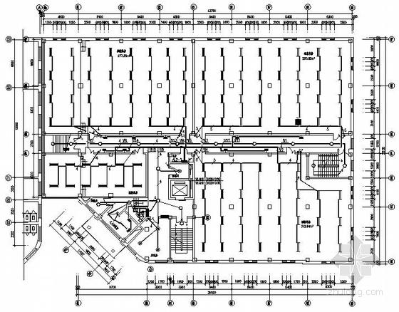 某档案库房工程电气图纸