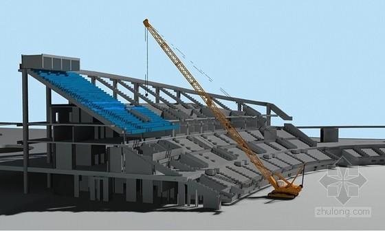 体育馆预制看台板加工及吊装施工方案