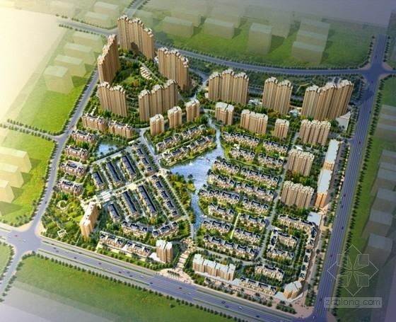 [四川]某欧式高档居住区规划及单体设计方案(含实景)