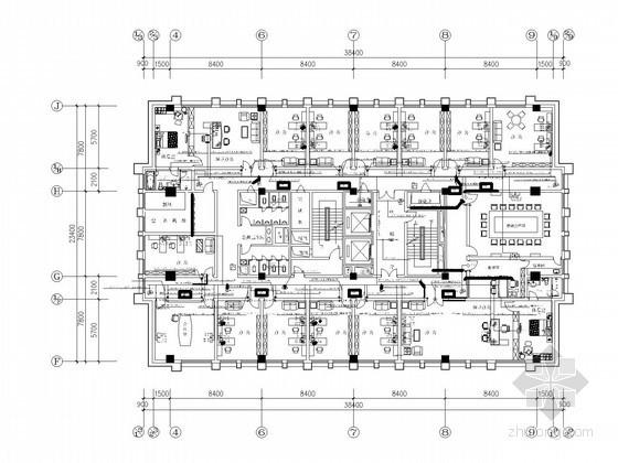 [南京]办公大厦智能化系统施工图纸