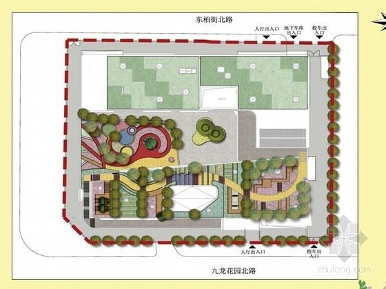 [北京]国际学校幼儿园景观设计方案