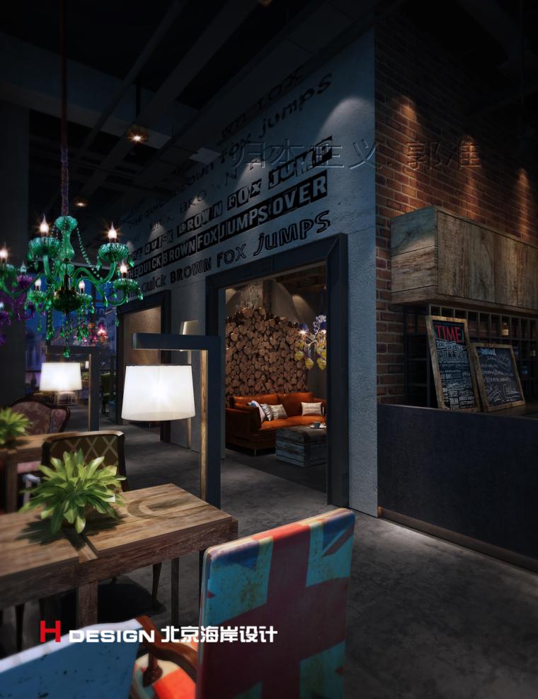 归本主义设计作品—上海漫猫咖啡馆设计案例_3