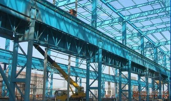"""唐山某钢厂建设工程""""苦干冬三月""""汇报"""