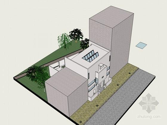 普拉内克斯住宅SketchUp模型下载