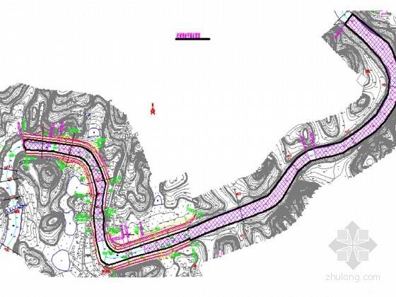 河道防洪治理工程施工节点详图