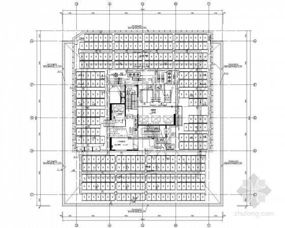 [广东]超高层一类公共建筑综合体给排消防施工图(雨水回用 气体灭火 大空间智能灭火)