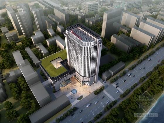 [湖北]高层新中式风格医院设计方案文本(2015年 设计优秀)