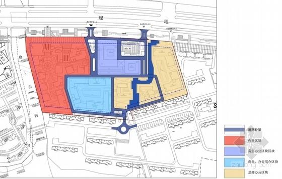 [江苏]景观式企业总部双塔大厦建筑设计方案文本(知名地产含CAD)-景观式企业总部双塔大厦建筑分析图