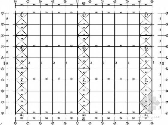局部二层办公楼厂房结构施工图