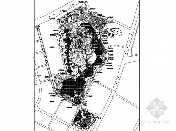 [深圳]工业园区公园园林景观工程施工图