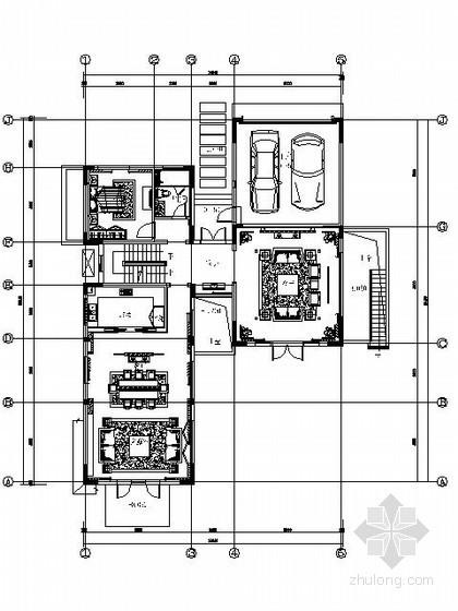 [苏州]新中式别墅样板房施工图(含效果)